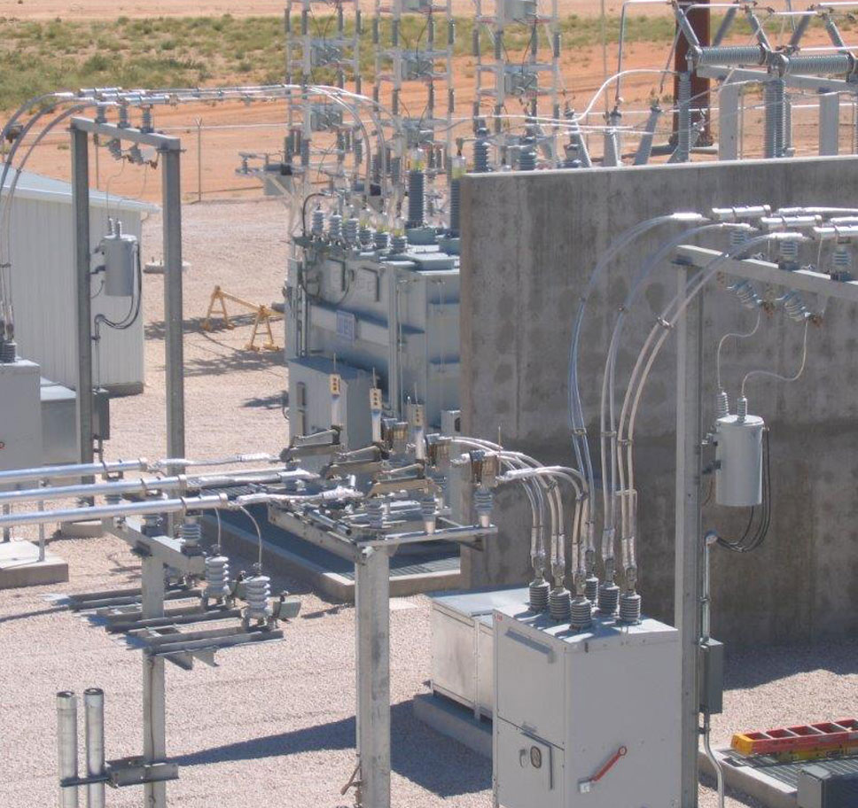 National Enrichment Facility Substation